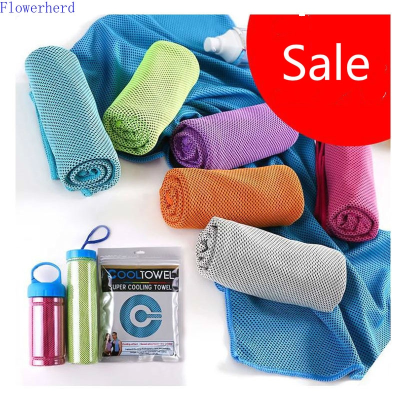 Cold Sense Towel Ice Towel Cold Sense Sports Ice Towel Cooling Ice Towel Sports Towel Microfiber Towel Cooling Neck Wrap multicolor sports face towel cooling ice utility enduring instant cozy ice cold for enduring running jogging gym