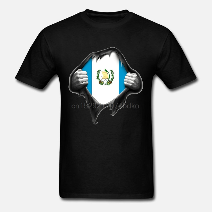 Hombres Camiseta de manga corta de Guatemala bandera T camisa mujeres camiseta