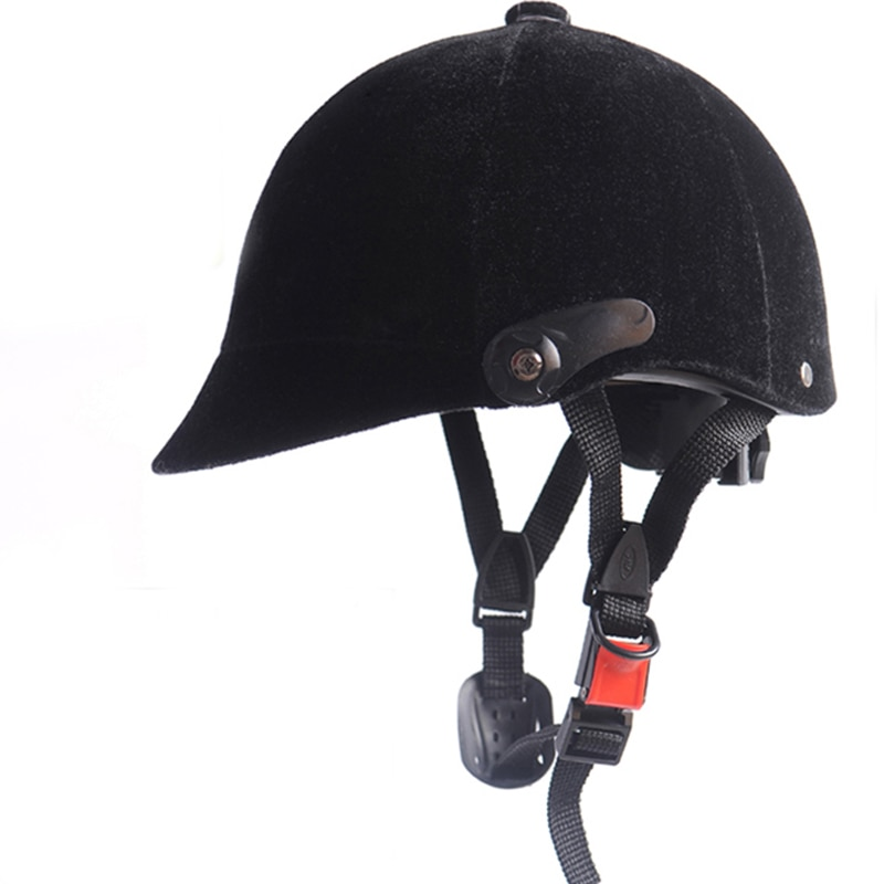 Horse Riding Helmet Men Women Equestrian Black Horse Riding Cap Hat Adjustable Helmet Horse Rider Heads Body Protector Equipment vented western riding helmet safety low profile equestrian headwear plasic horse helmet sports safety accessory protecting head