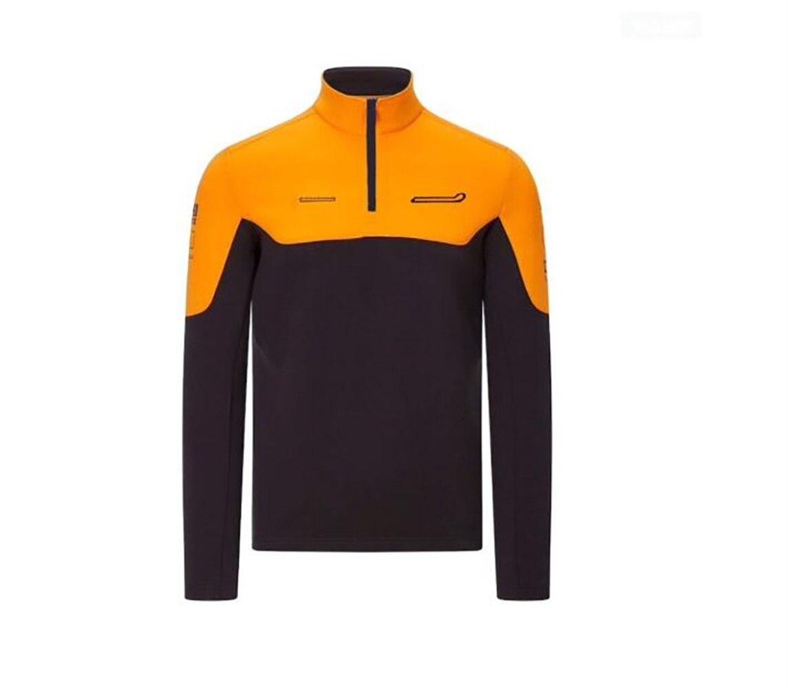 Горячая Распродажа F1 формула One гоночная одежда 2021 пуловер свитер тонкий флисовый ветрозащитный Повседневный свитер под заказ