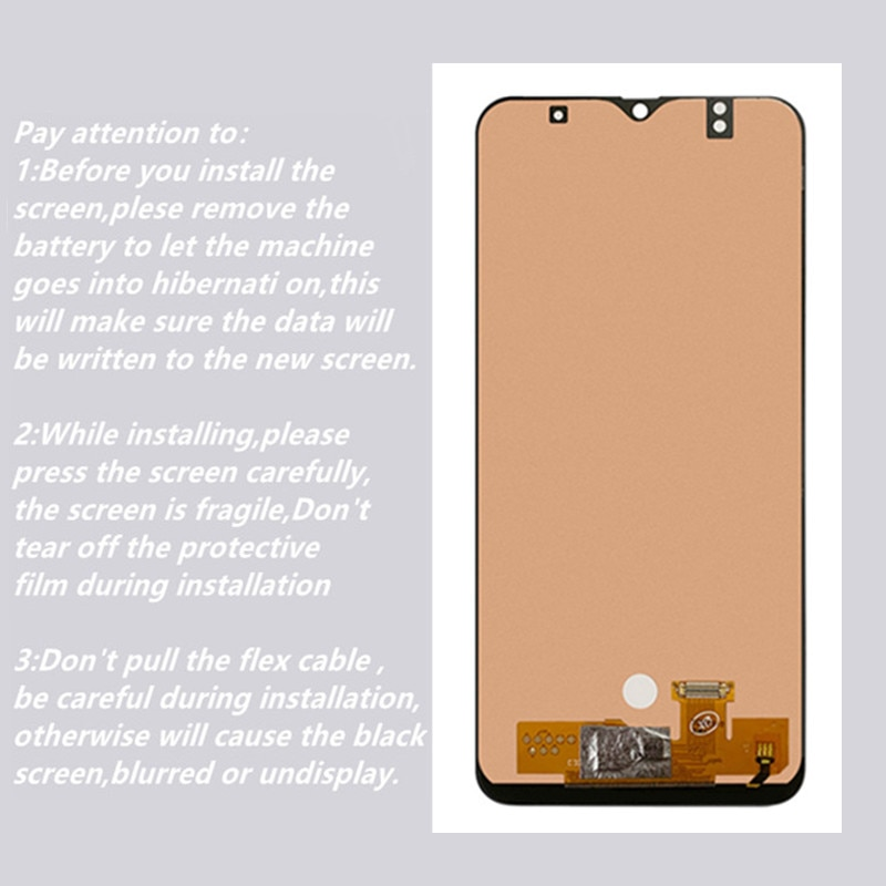 New For Samsung Galaxy A50 SM-A505FN/DS A505F/DS A505 LCD Display Touch Screen Digitizer Assembly For Samsung A50 LCD enlarge