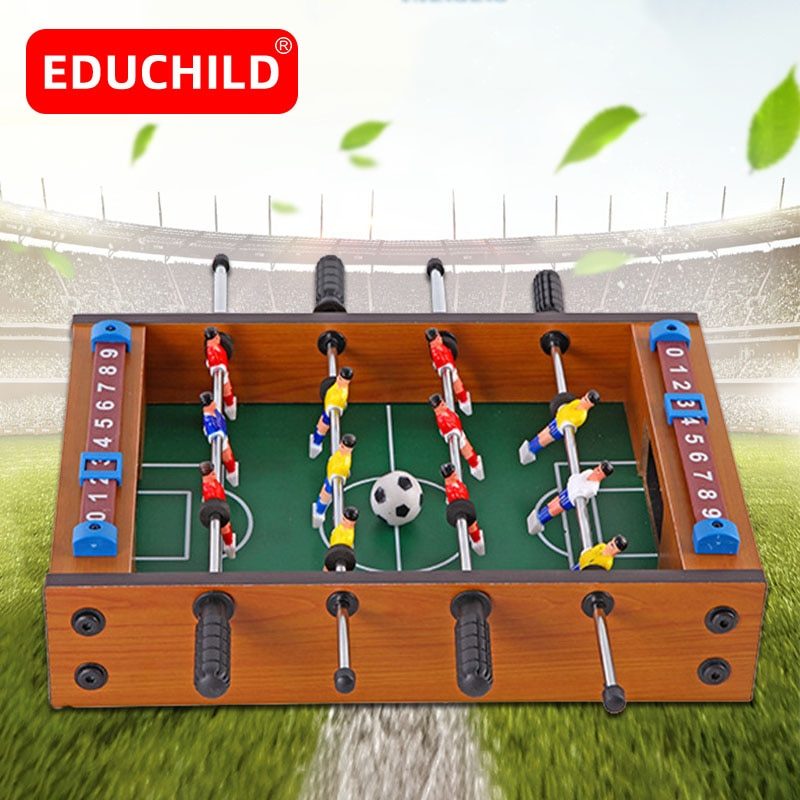 Edubaby كرة القدم مجلس لعبة الطاولة لعبة كرة القدم مجموعة الجدول لعبة كرة القدم للأطفال التعليمية الرياضة في الهواء الطلق المحمولة الجدول ألعاب