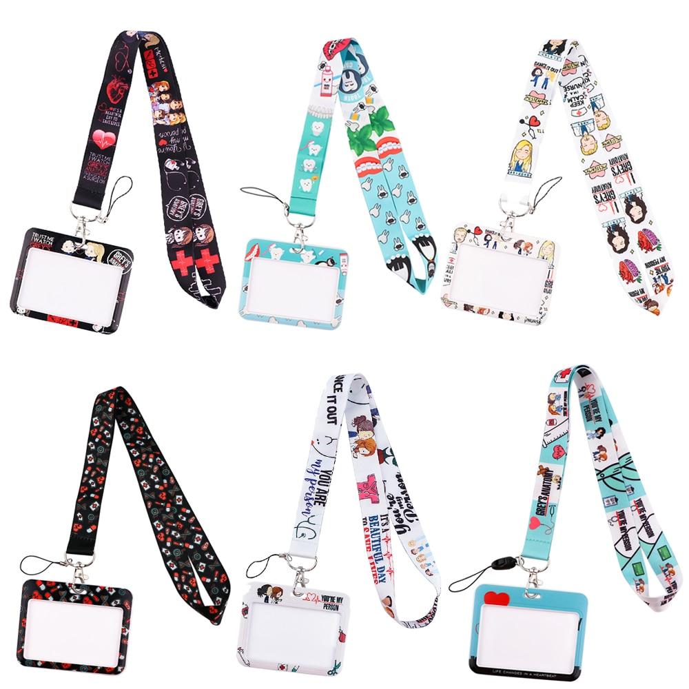 AliExpress - PF040 Medical Doctor Nurse Lanyard for Key Neck Strap For Card Badge holder Key Chain Lanyard Key Holder DIY Hang Rope Keychain