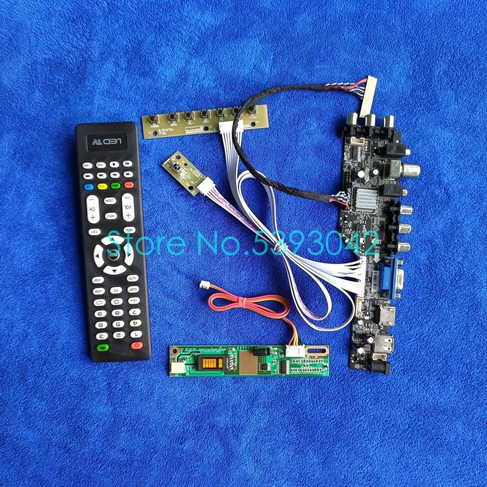 ل QD15TL02 Rev.01/Rev.02/Rev.03/Rev.04/Rev.05/Rev.06 30 دبوس DVB الرقمية USB + 1CCFL LVDS 1280*800 3663 طقم لوحة تحكم