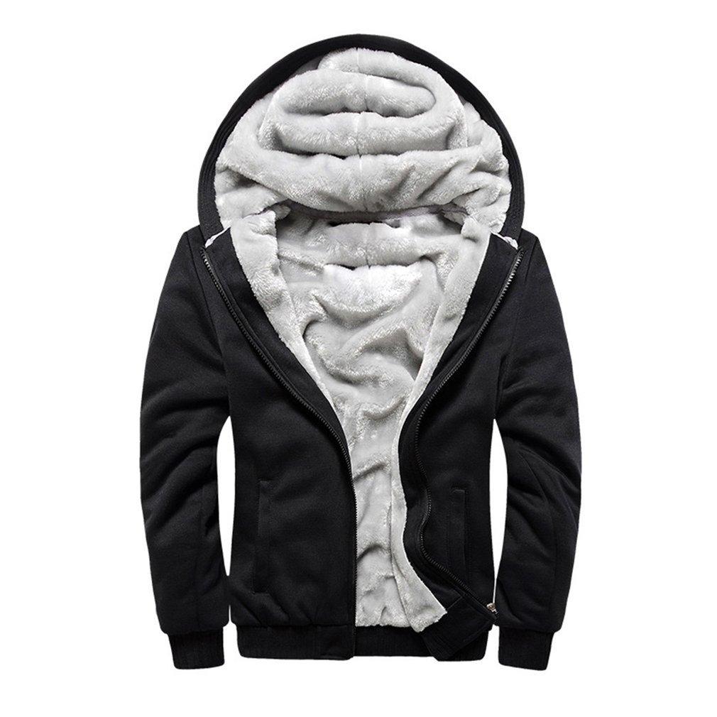 Модная зимняя куртка, Мужская толстовка, Мужское пальто с капюшоном 2020, брендовая Повседневная утепленная бархатная толстовка на молнии, му...