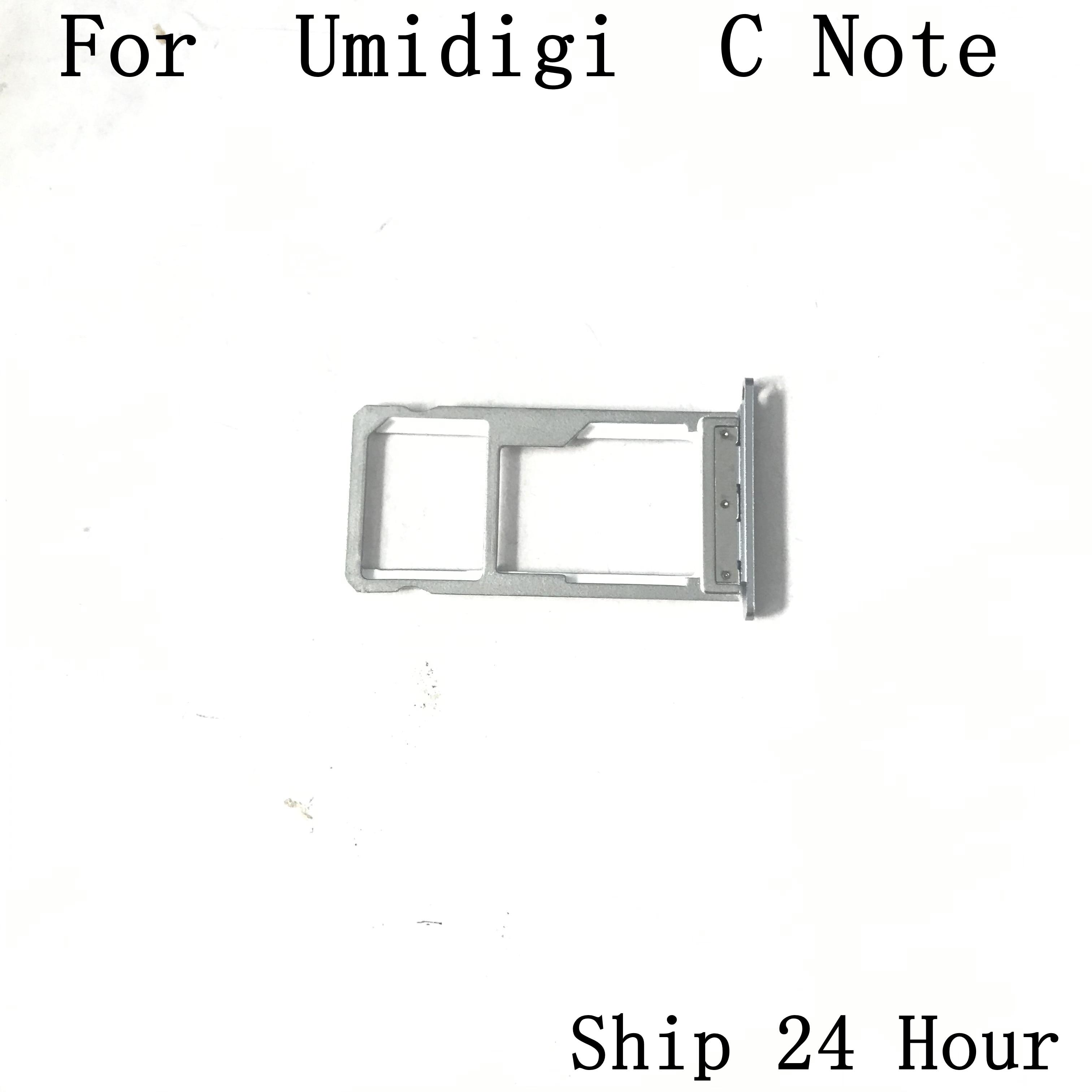 Accesorios usados de la ranura de la tarjeta de la bandeja del soporte de la tarjeta Sim para umideli C NOTE MTK6737T Quad Core 5,5 pulgadas 1920x1080