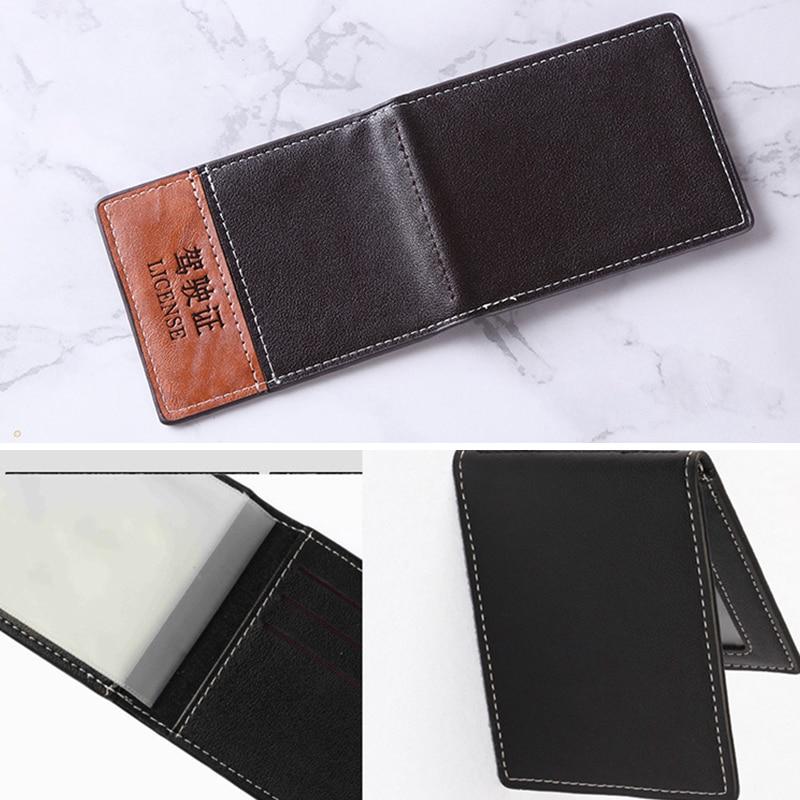 Новинка держатель для водительского удостоверения телефон сумка для карт для автомобильных водительских документов деловой идентификато...