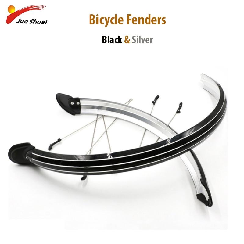 "Lange Spatbord Fiets Fenders 20 ""24"" 26 ""700C Bike Wing Plastic Materiaal voor Fiets Wiel Fietsen accessoires Fiets Kit"