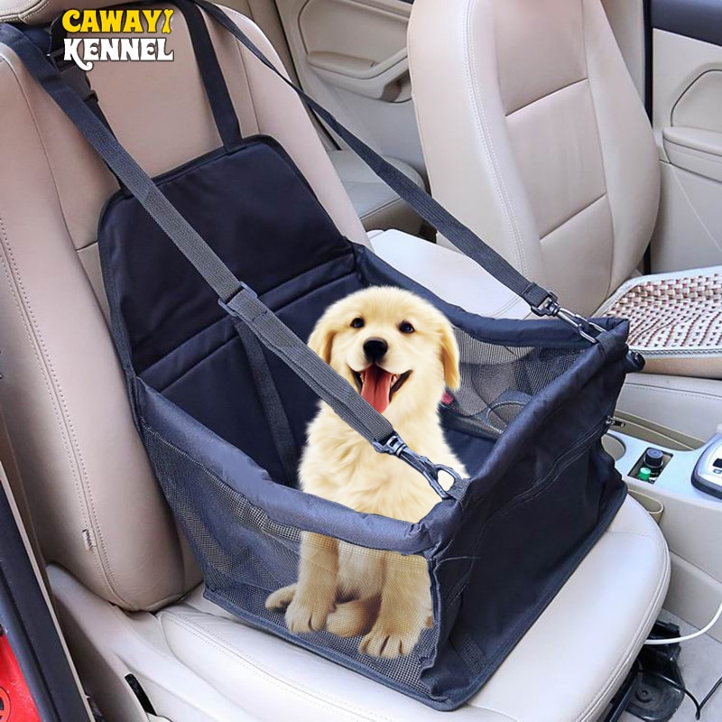 CAWAYI KENNEL Travel Dog Car Seat Cover Folding Hammock Pet Carriers Bag Carrying For Cats Dogs tran