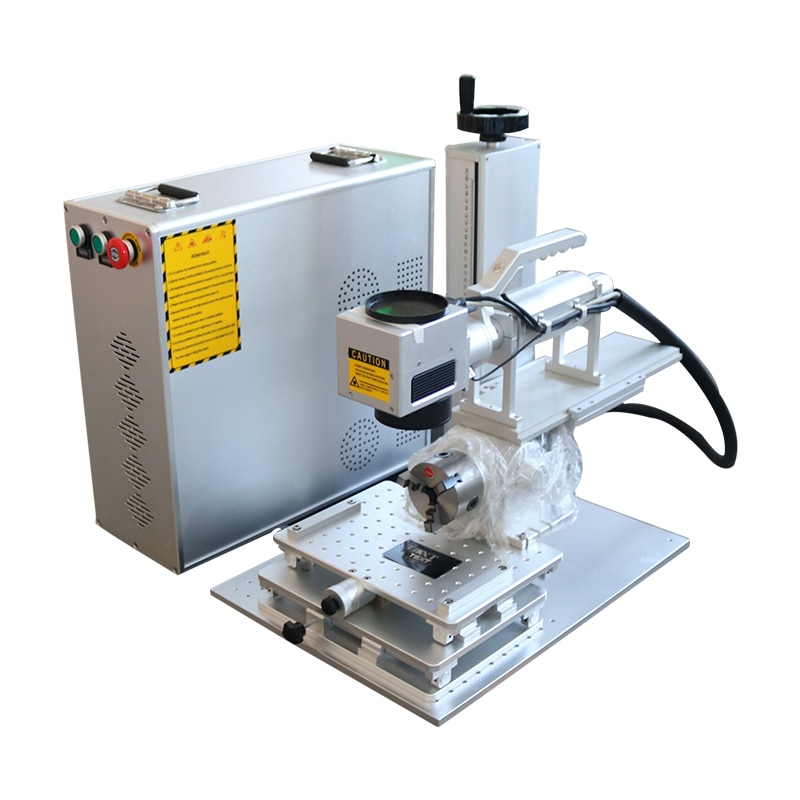 20w cnc laser marking machine with raycus fiber source
