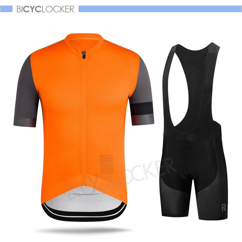 Ropa de Ciclismo de Verano para Hombre, Conjunto de Jersey antideslizante, mangas cortas, uniforme personalizado, Mallot Ciclismo Hombre Verano 2020