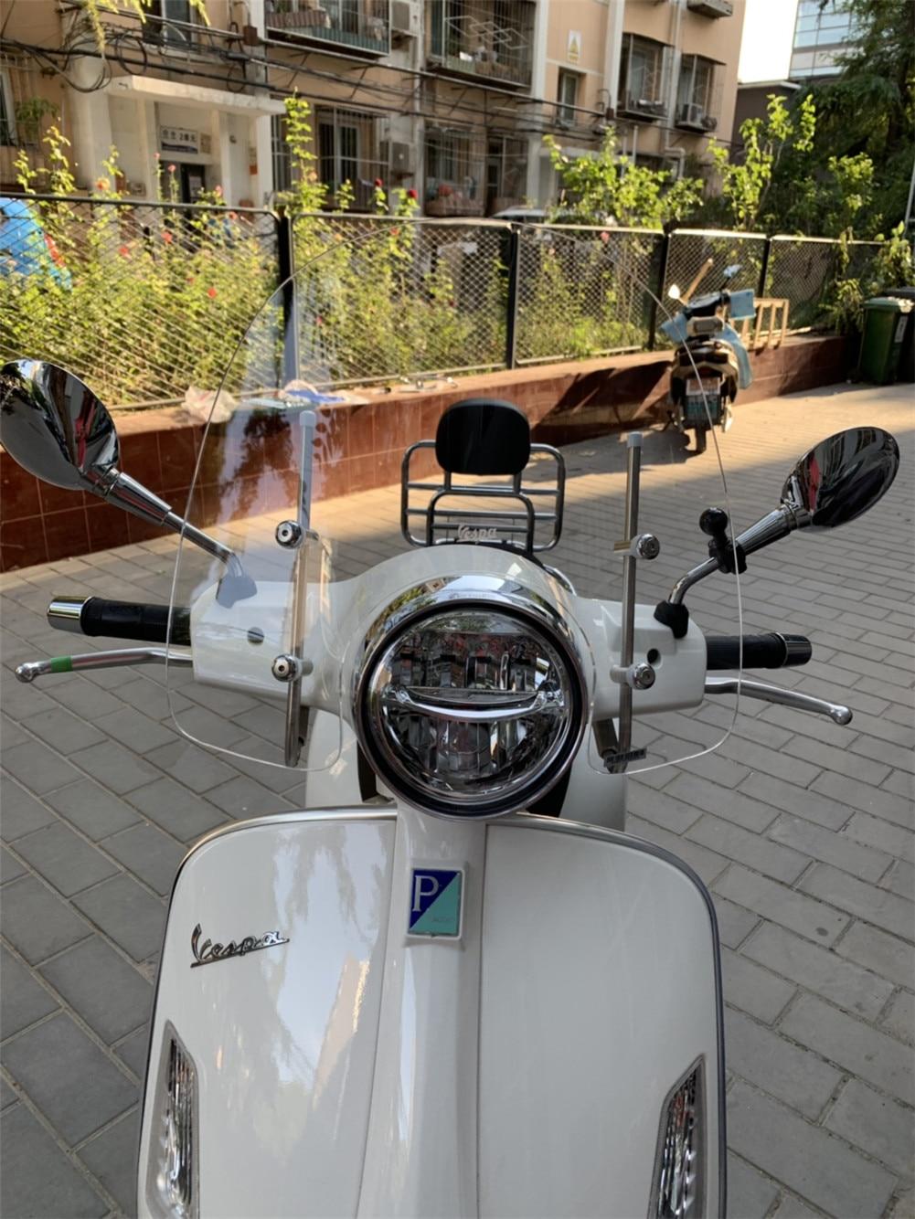 Accesorios para Scooter, Deflector de aire, parabrisas, motocicleta, Vespa GTS 300