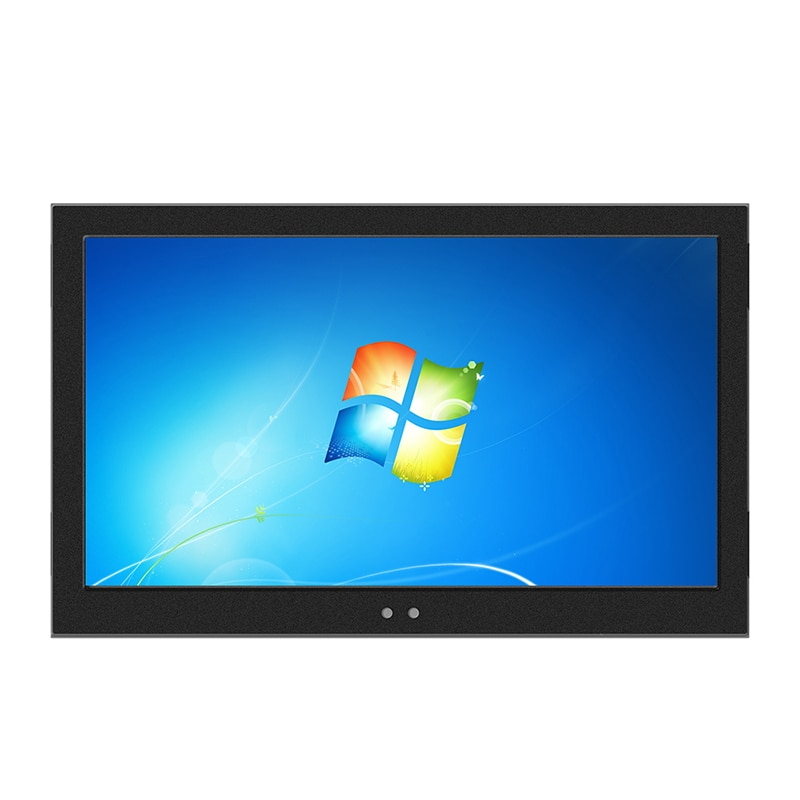 19 21.5 23.6 Inch Industrial Display LCD Screen Monitor of Tablet VGA HDMI USB Resistance Touch Screen Embedded installation