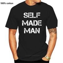 New Men tshirt Short sleeve Self Made Man T Shirt Transgender T Shirt Women t-shirt