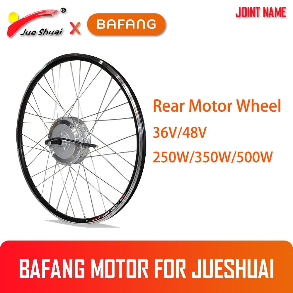 "BAFANG 36V 250 W/350 W/500 W 48V 350 W/500 W rueda trasera del Motor para la bicicleta eléctrica 26 ""700C (28"") moteur roue"