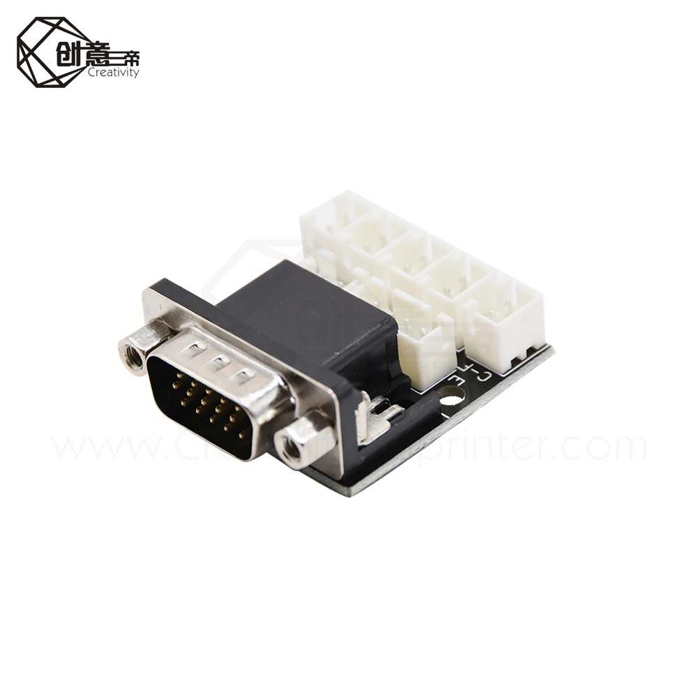 Creativity 3D printer integrated extrusion/nozzle heating/temperature Control, Using VGA signal cable transmission Motherboard enlarge