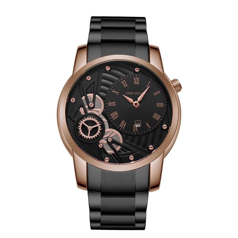 ساعات معصم رجالية كوارتز تصميم باغاني ساعات فاخرة Reloj Hombre Marca De Lujo Orologio Uomo Montre Homme