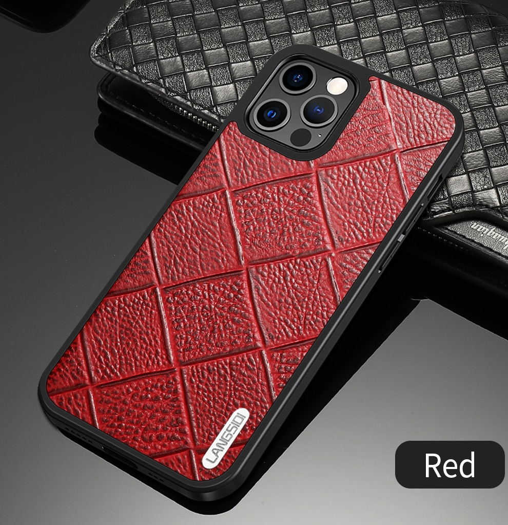 iphone 12 pro max leather case 9