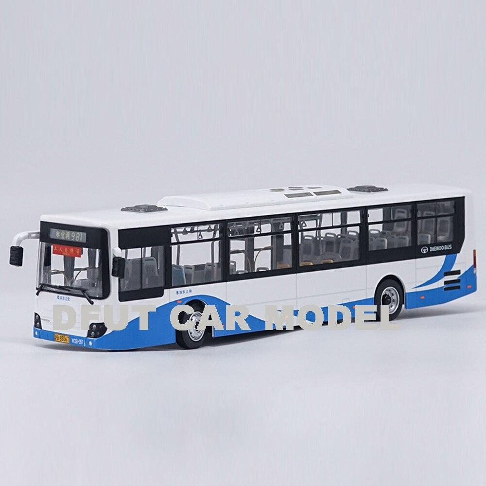 143 alliage jouet DAEWOO BUS voiture modèle de voitures jouets pour enfants Original autorisé authentique enfants jouets