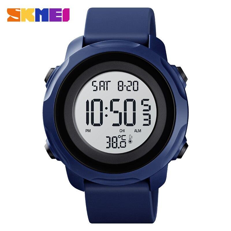 SKMEI Men Digital Sport Watches 50M Waterproof Electronic Clock Luxury Brand Male Wristwatch Montre