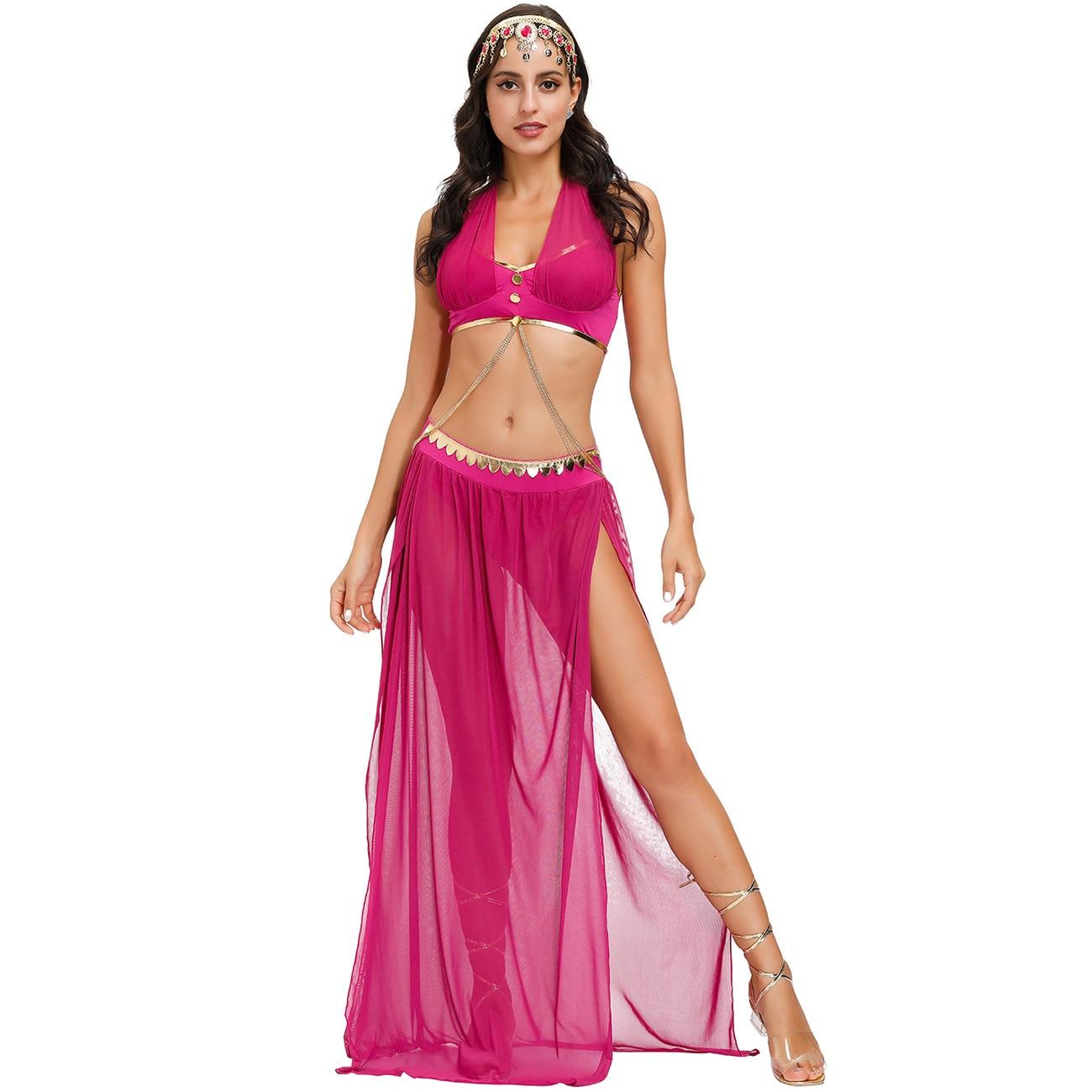 Vestido de princesa para Halloween, cosplay, bailarinas indias femeninas, all saints of...