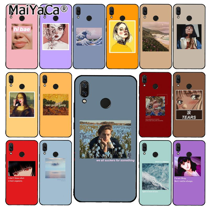 MaiYaCa Great art aesthetic van Gogh Mona Lisa David Phone Case for Xiaomi Redmi8 4X 6A S2 Go Redmi 5 5Plus Note4 5 7 Note8Pro