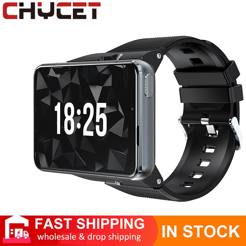 Review CHYCET 2021 New Smart Watch 4G  Android 9.0 Making Calls Photo Taking Smart Watches Heart Rate Monitor Support GPS Smartwatch