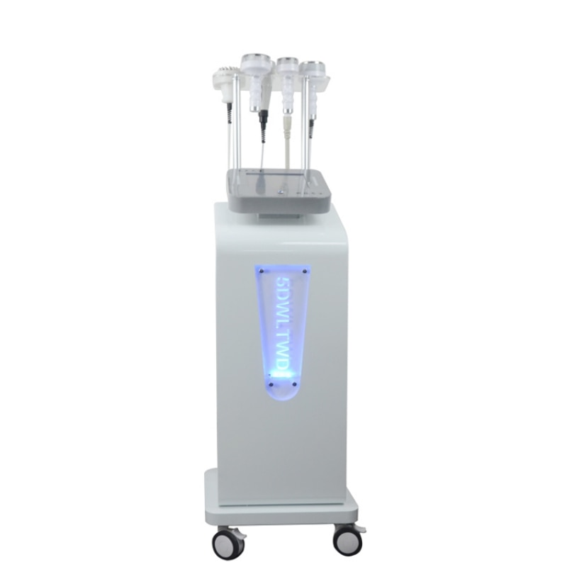 6 IN 1 80k Cavitation Body Slimming Fat Burning Cellulite Removal Contouring Shaping Face Lifting Vacuum Massage Machine