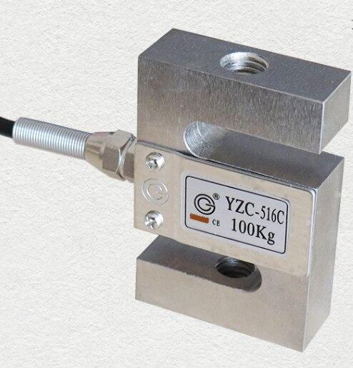 YZC-516C 100kg 200KG 300KG 500KG 1000KG Load Cell Pull Pressure S Type