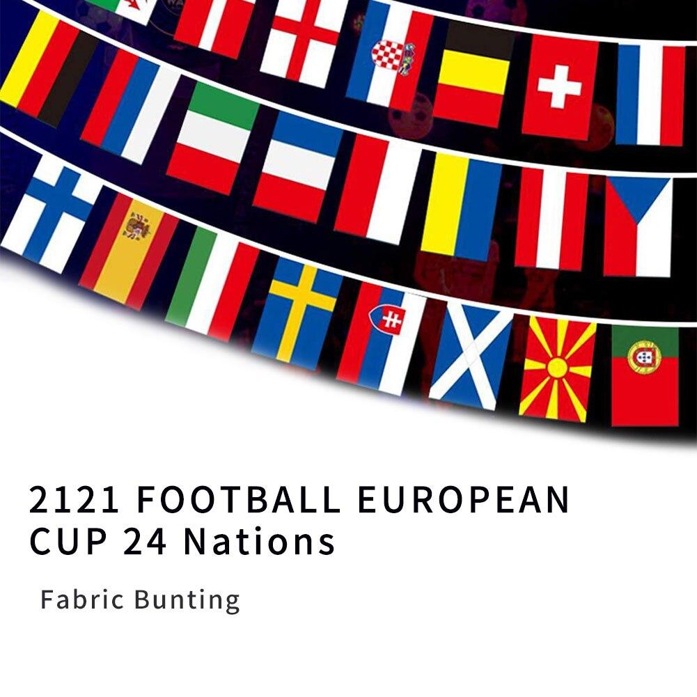 Флаги чемпионата по футболу 2021 евро флаги 30x40 см флаги из 24 стран украшение для турниров стран мира