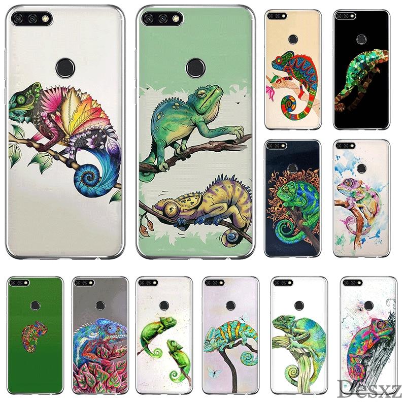 Mobile Phone Case For Huawei P30 P20 P10 P8 P9 Lite Pro P Smart Z Plus Cover TPU Chameleon