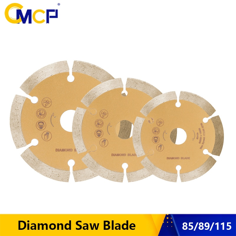 CMCP Diamond Saw Blade 85/89/115mm Dry-Cut Disc for Angle Grinder Cutting Concrete Ceramic Brick Marble Stone Cutting Discs