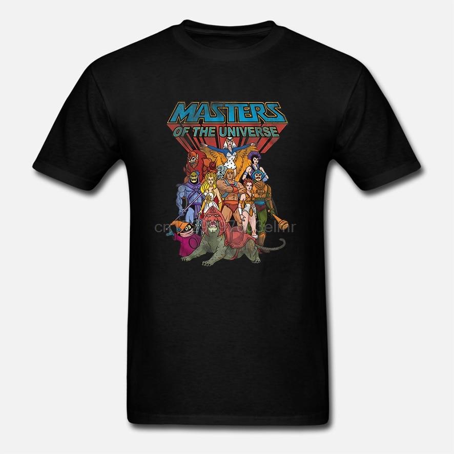 Camiseta de los amos del universo He-Man Squad Goals Men camiseta Skeletor she-ra Beast