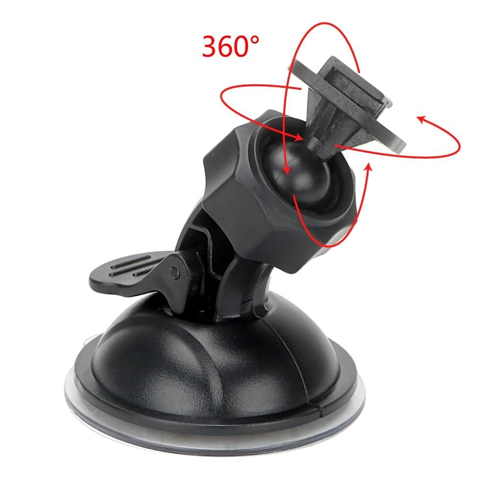 Girando carro gravador de condução suporte 360 graus carro dvr titular esporte dv câmera montagem universal para xiaomi yi gopro