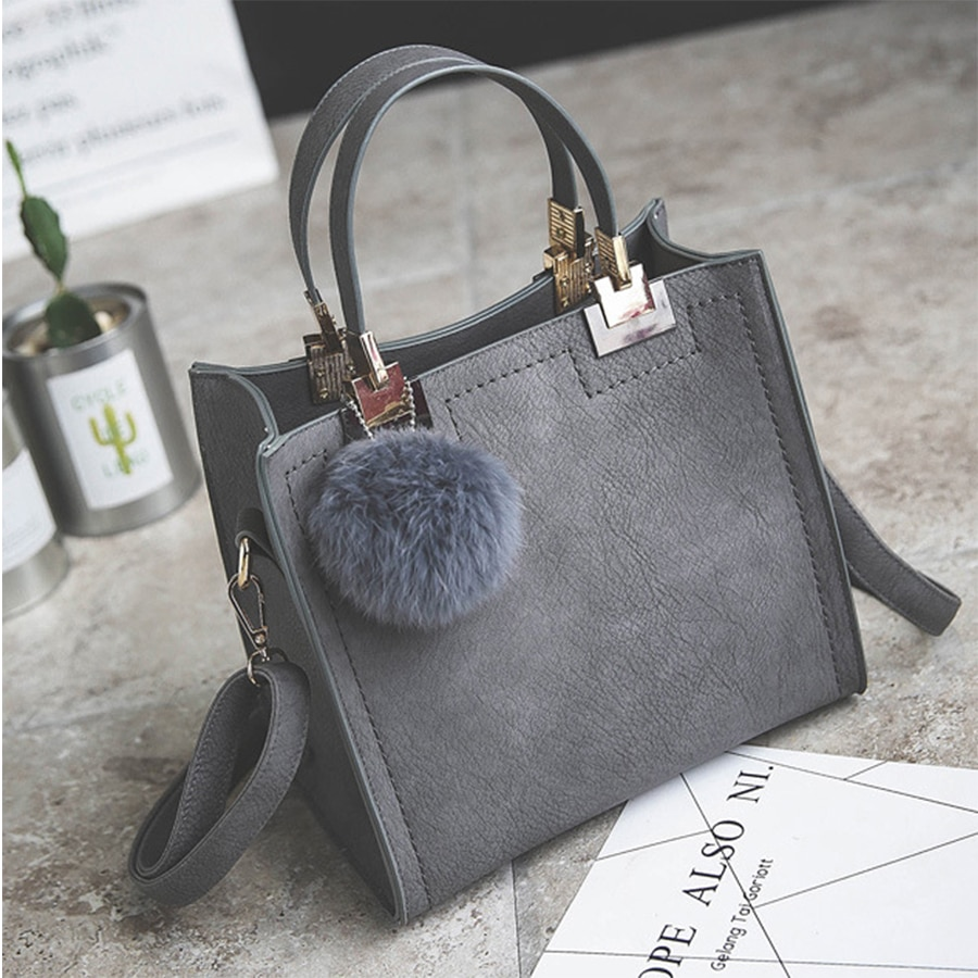 SWDF Female Shoulder Bags For Women 2021 New Fashion Crossbody Bag Luxury Handbags Women Bags Designer Travel Hairball Bag Sac