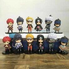 Q version of Naruto model doll Naruto Gaara Uchiha Itachi keychain pendant gift gift box