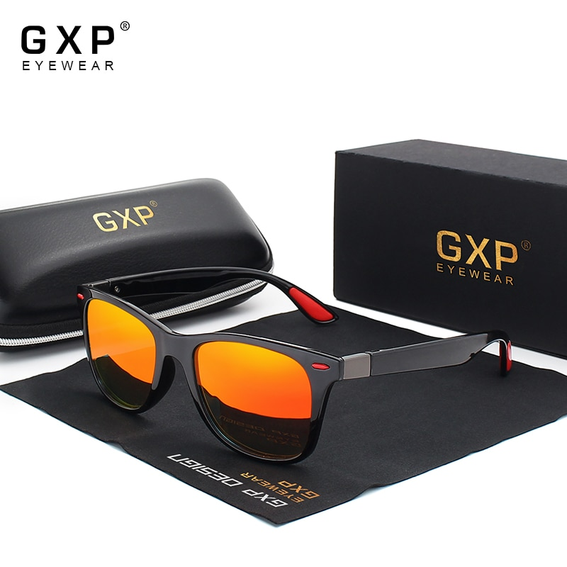GXP Brand Classic Polarized Sunglasses Men Women Driving Square Frame Sun Glasses Male Goggle UV400