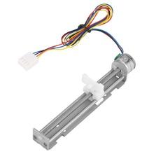 Moteur pas à pas cc 12V avec curseur linéaire écrou à vis pour bricolage Machine de gravure Laser petite Machine de gravure Laser
