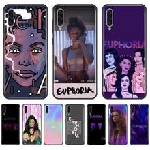 Série TV américaine Euphoria étui de téléphone pour Samsung A20 A30 30s A40 A7 2018 J2 J7 prime J4 Plus S5 Note 9 10 Plus