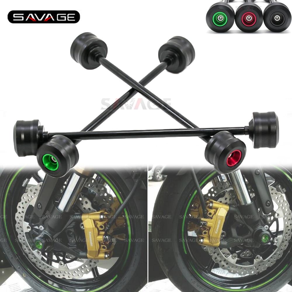 Front Axle Wheel Fork Slider Protector For KAWASAKI Z 650 Z 750 S Z 800 Z 900 RS Z 1000 2005-2020 18 2019 Motorcycle Accessories