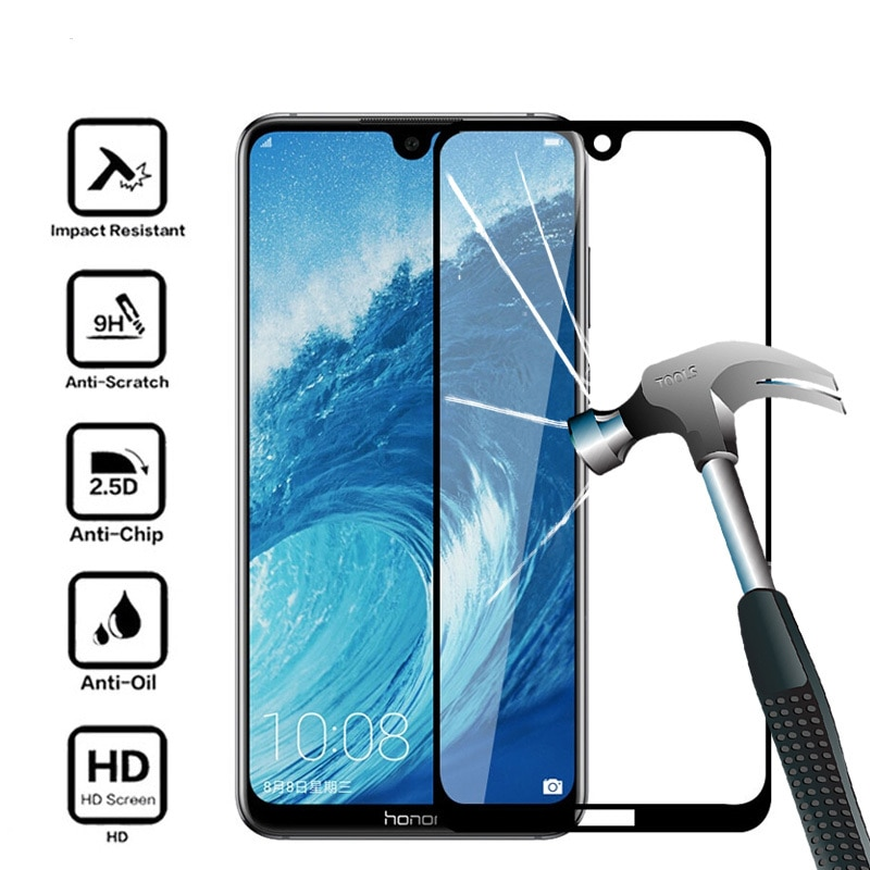 5D Protect Glass For Huawei Honor 8A Screen Protector For Honor 8A Pro 9H Tempered Glass For Honor P