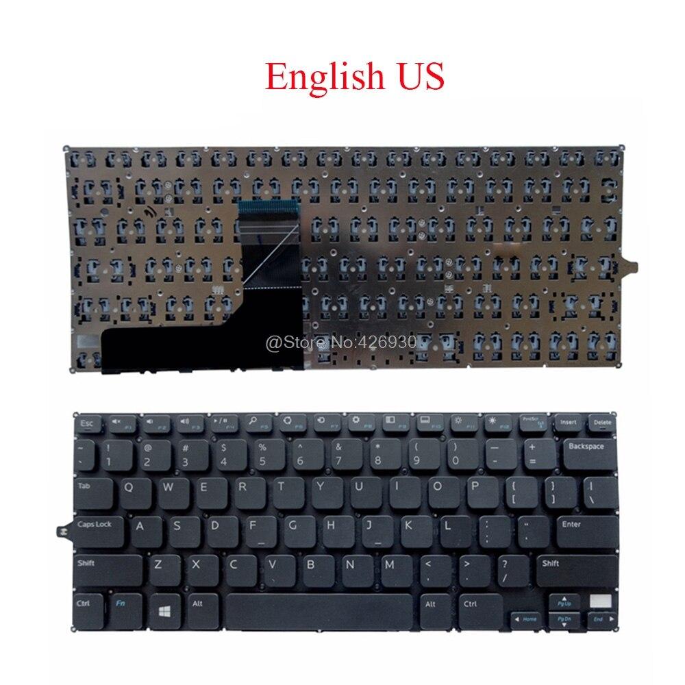 Portátil teclado US para DELL Inspiron para 11 3000, 3147, 3148, 3152, 3153, 3157, 3158 2-en-1 P20T 0F4R5H F4R5H V144725AS1 de inglés
