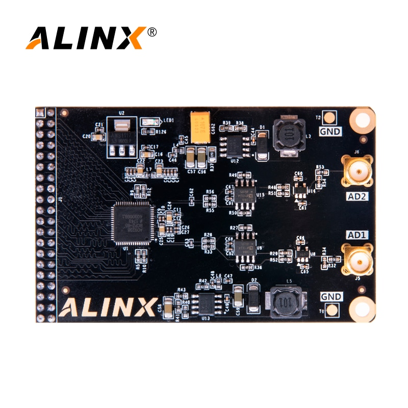 ALINX AN9238: Dual Channel 12-bits AD Module for FPGA Board 65MSPS 10MV enlarge