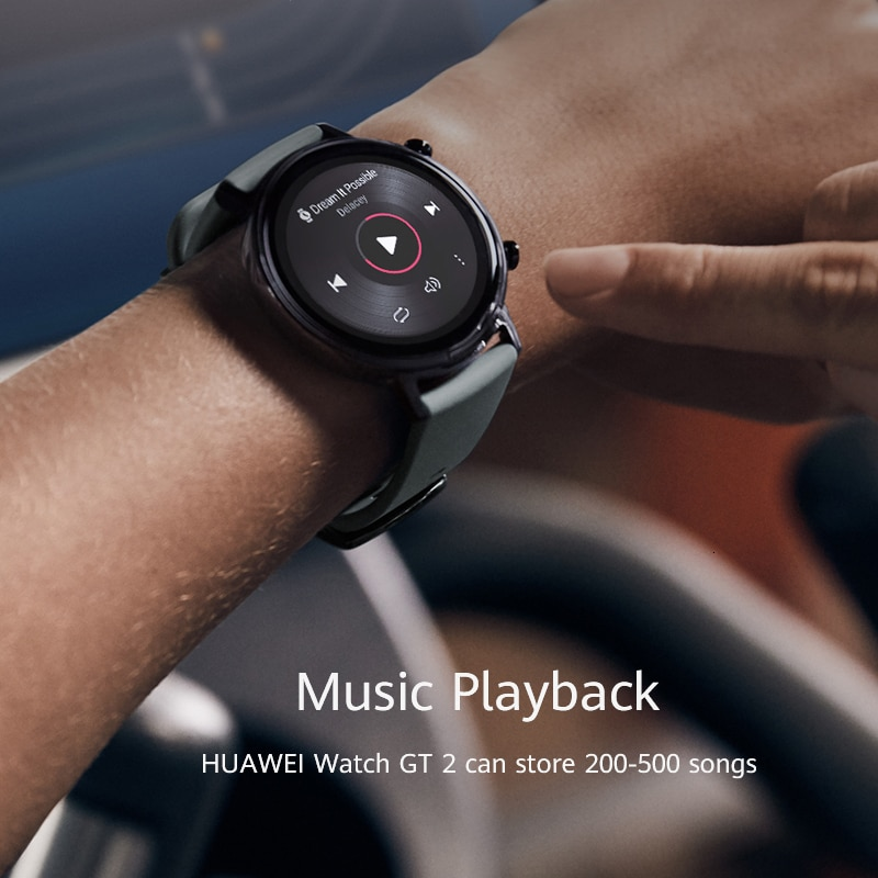 Huawei Watch GT2 GT 2 Sport Version 42mm Smart Watch Bluetooth Smart Watch 215mAh NFC GPS 5.1 Ringer Pulse For Android iOS