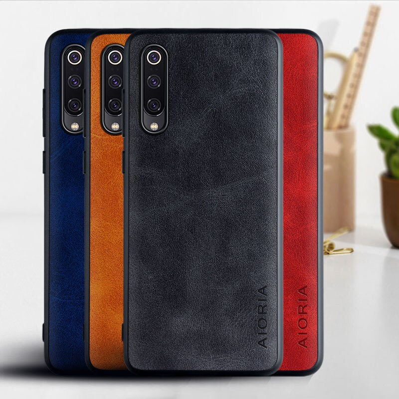 Fall für Xiaomi Mi 9 mi9 se lite mi 10 pro Funda luxus Vintage Leder telefon Abdeckung für xiaomi mi 9 mi9 se mi 10 fall coque capa
