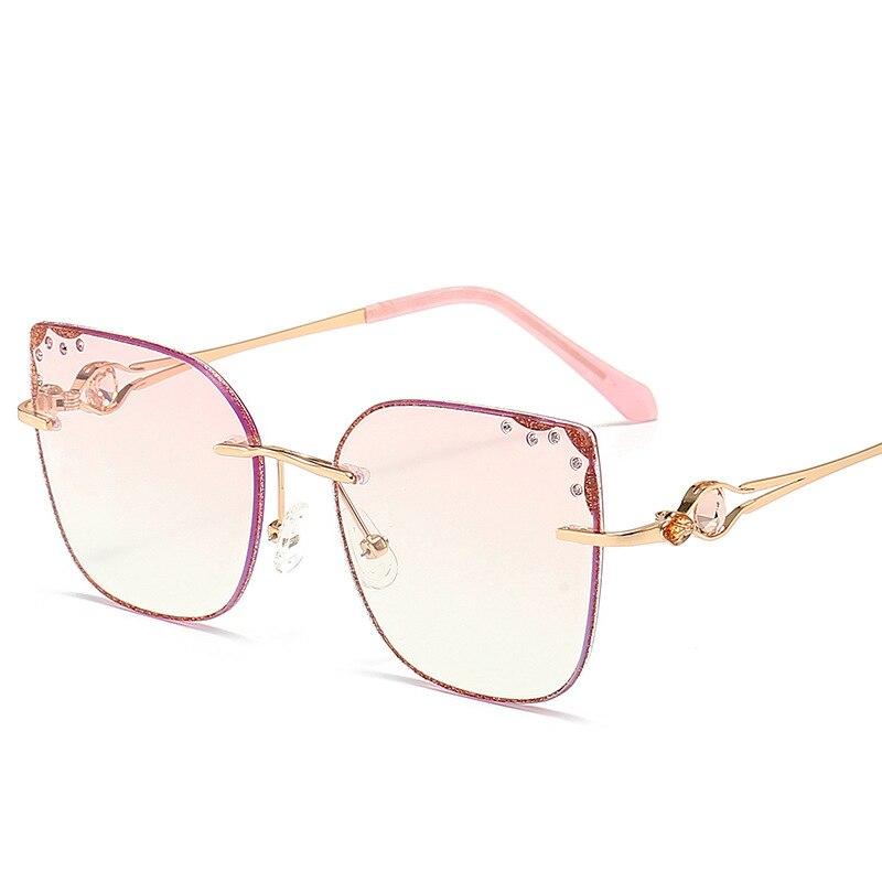 2020 Star Style polarisé rose femmes lunettes de luxe strass lunettes de soleil marque concepteur dernière femme UV400 dames lunettes de soleil