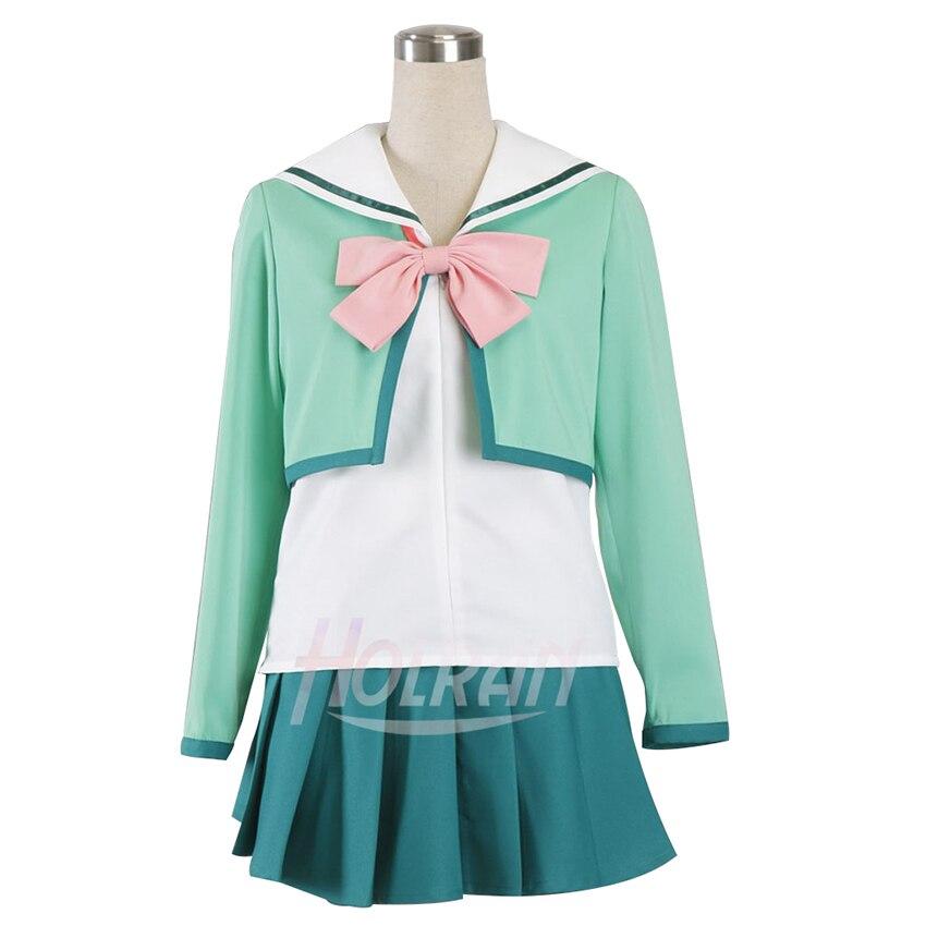 Holran anime príncipe de tênis cosplay traje ryuzaki sakuno cosplay feminino uniforme escolar traje japonês uniforme outfit