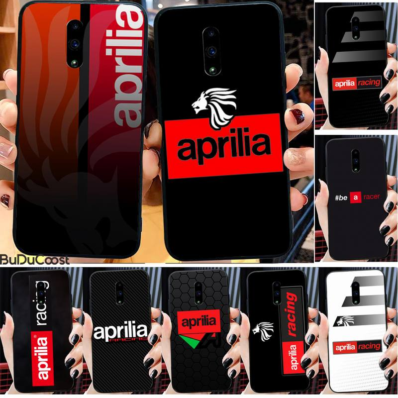 Aprilia Racing Motorcycle Logo Phone Case For Xiaomi Redmi Note 8 Pro Note9 Pro For Redmi Note5 7 No