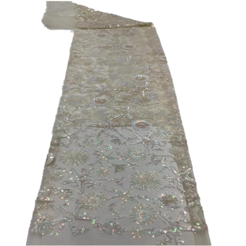 مألوفة أحدث الترتر الدانتيل الفرنسية تول شبكة عالية الجودة الكروشيه المطرزة النيجيري الأفريقي لينة الدانتيل النسيج HX-533