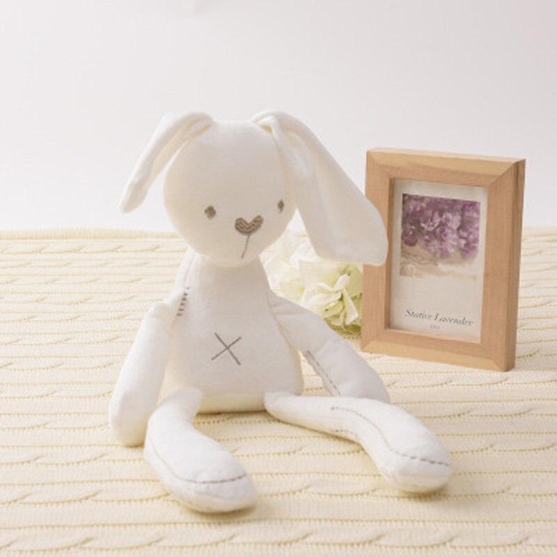 Cute Rabbit Girl Toy Long Legged Rabbit Doll Plush Toy Sleeping Companion For New Born Baby Plush Animal Toy Birthday Gift